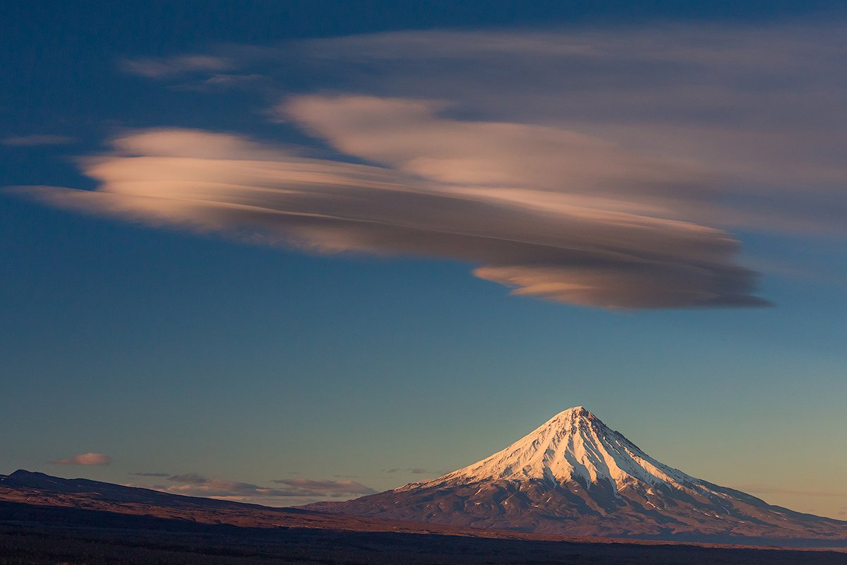 камчатка, осень, облака, пейзаж, природа, путешествие, фототур, , Денис Будьков