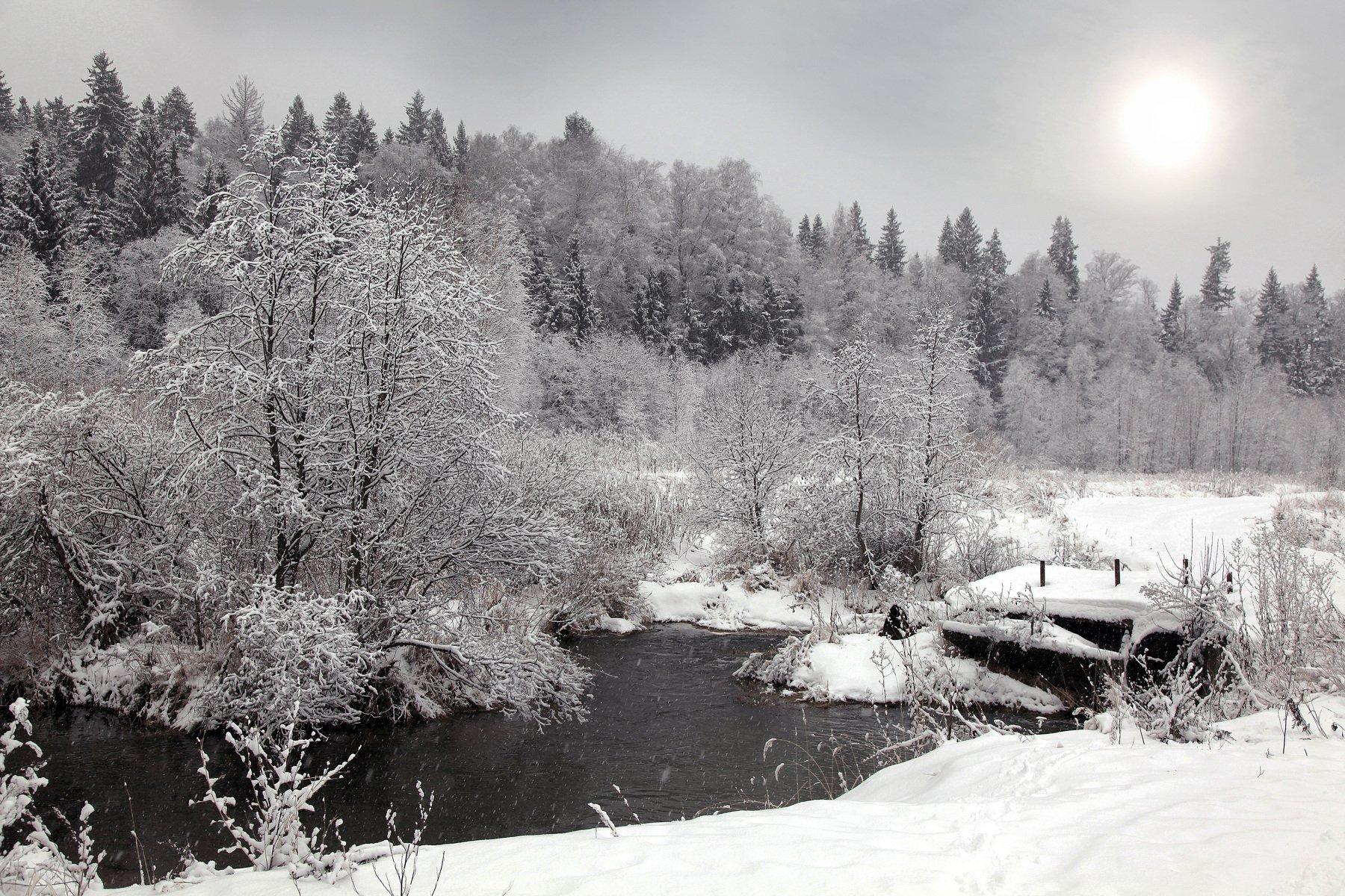 снег,зима,подмосковье,, Марат Магов