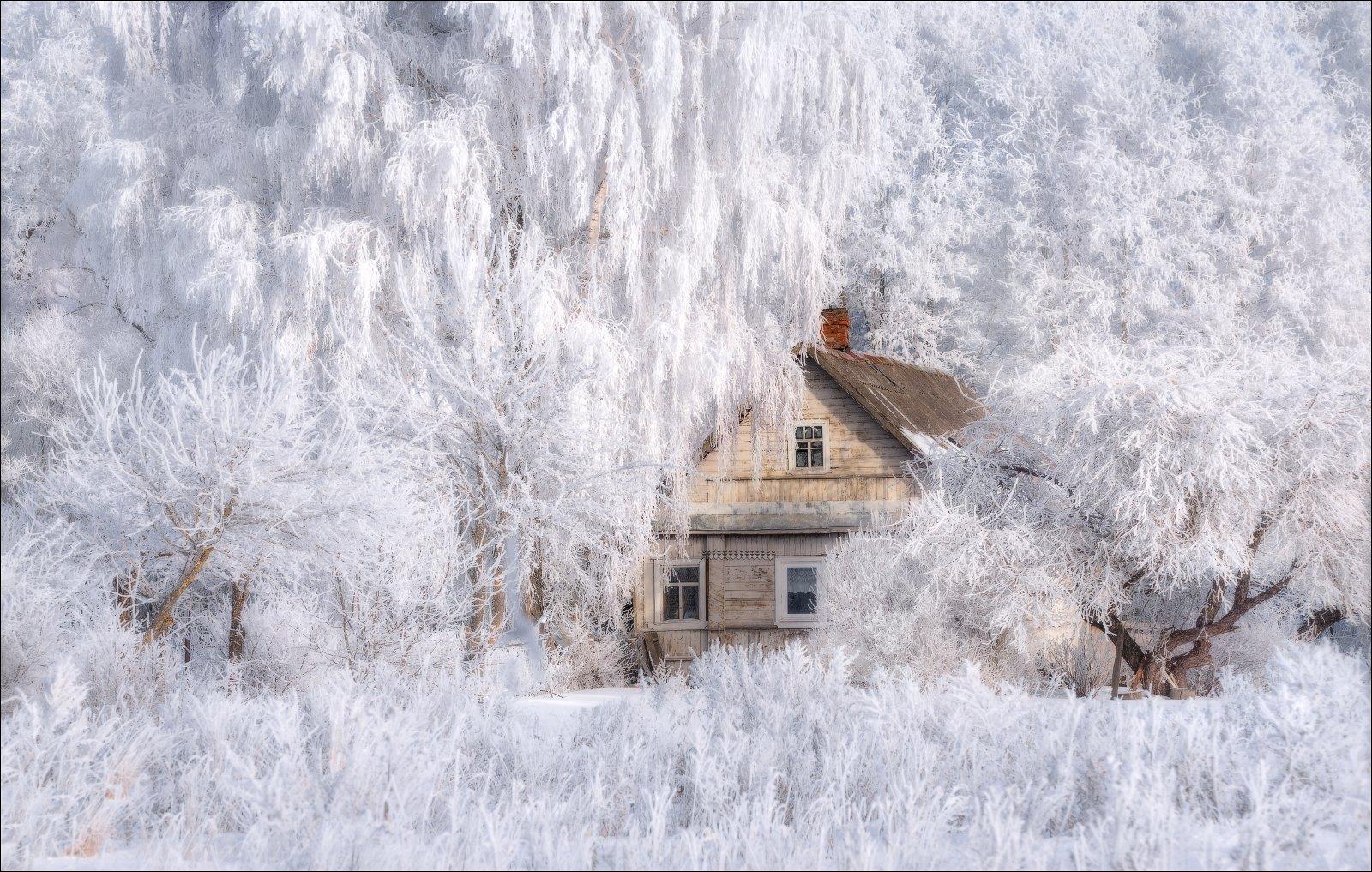 зима, изборск, январь,, Влад Соколовский