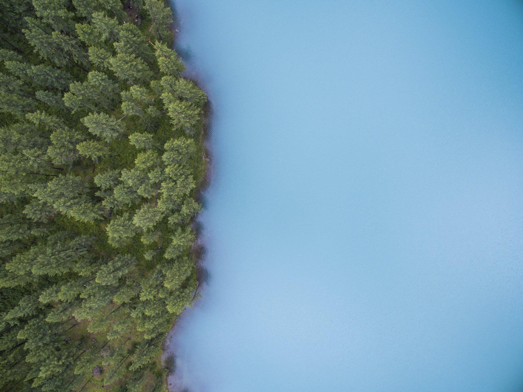 lake, forest, mountains, Tarasov Maksim