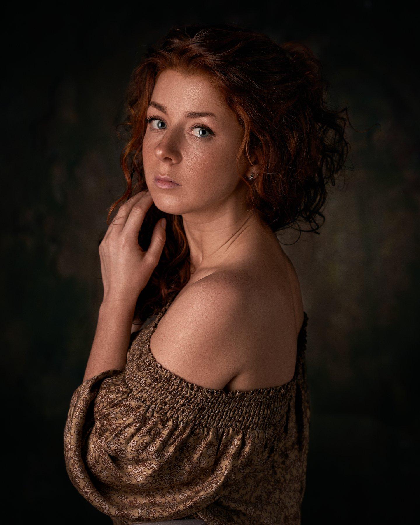 pyzhikphoto, портрет, классика, классический портрет, портрет девушки, женский портрет, portrait, classic, art, красавица, фото, девушка, кудри, винтаж, Пыжик Максим