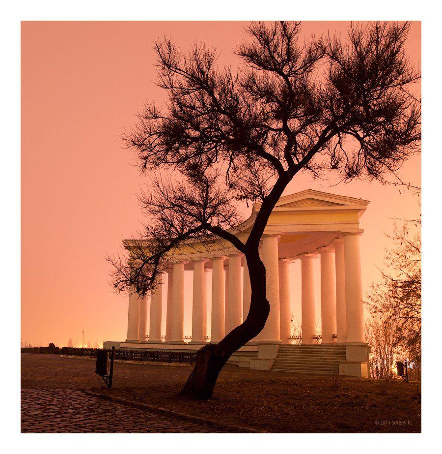одесса, колоннада, воронцов, дворец, Сергей