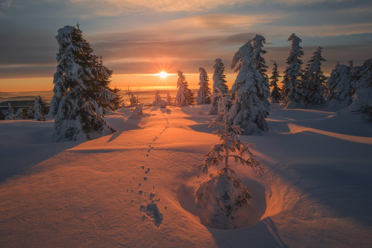 landscape,canon,sunrise,winter,mountains, Iza i Darek Mitręga