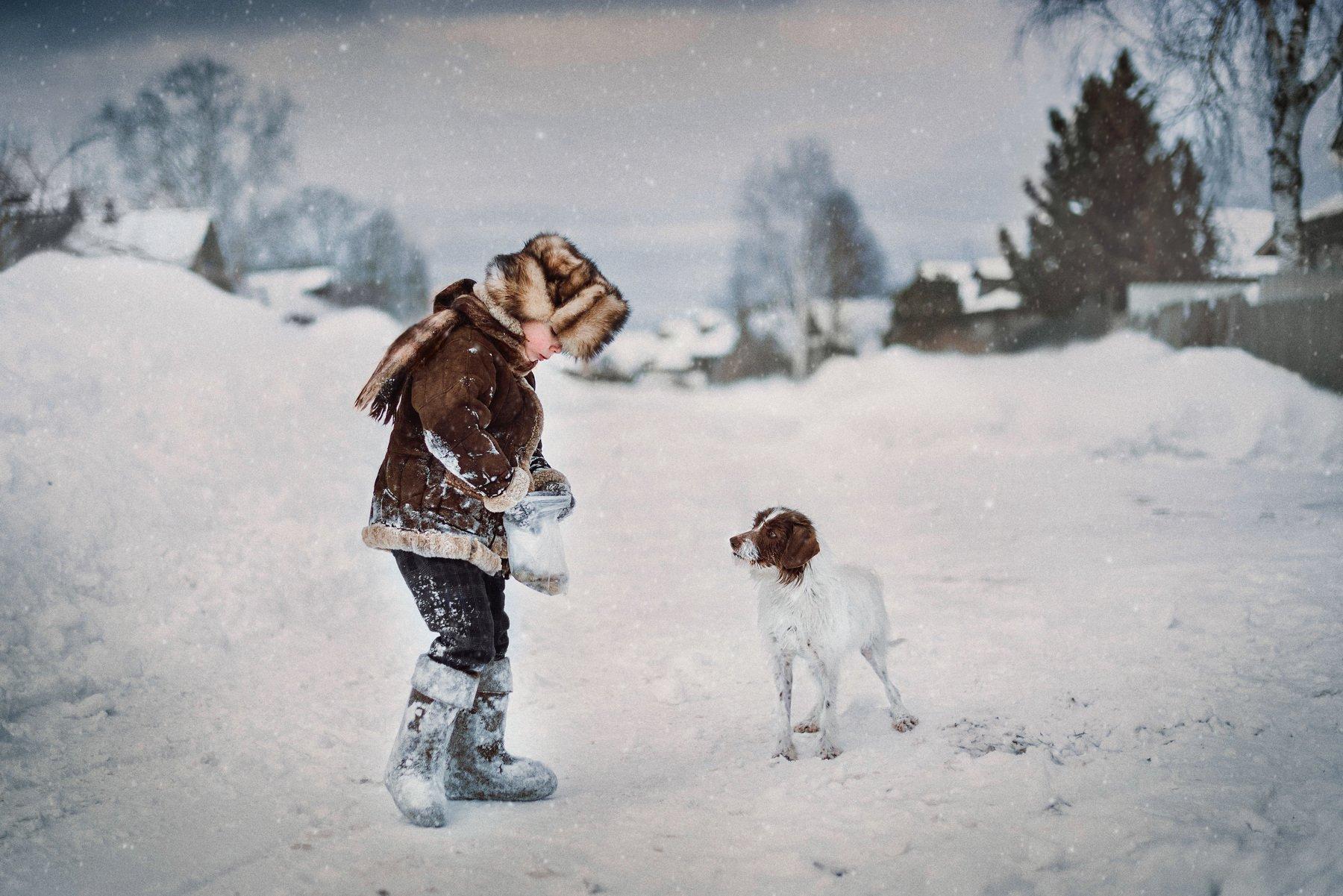 деревня, дети, Тарасова Ольга