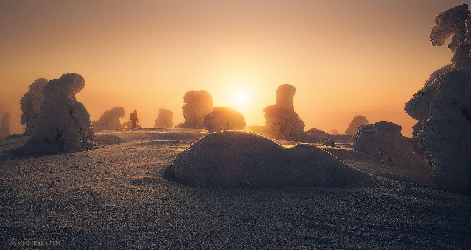 кольский, кольский полуостров, кандалакша, зима, winter, snow, north, Королёв Сергей