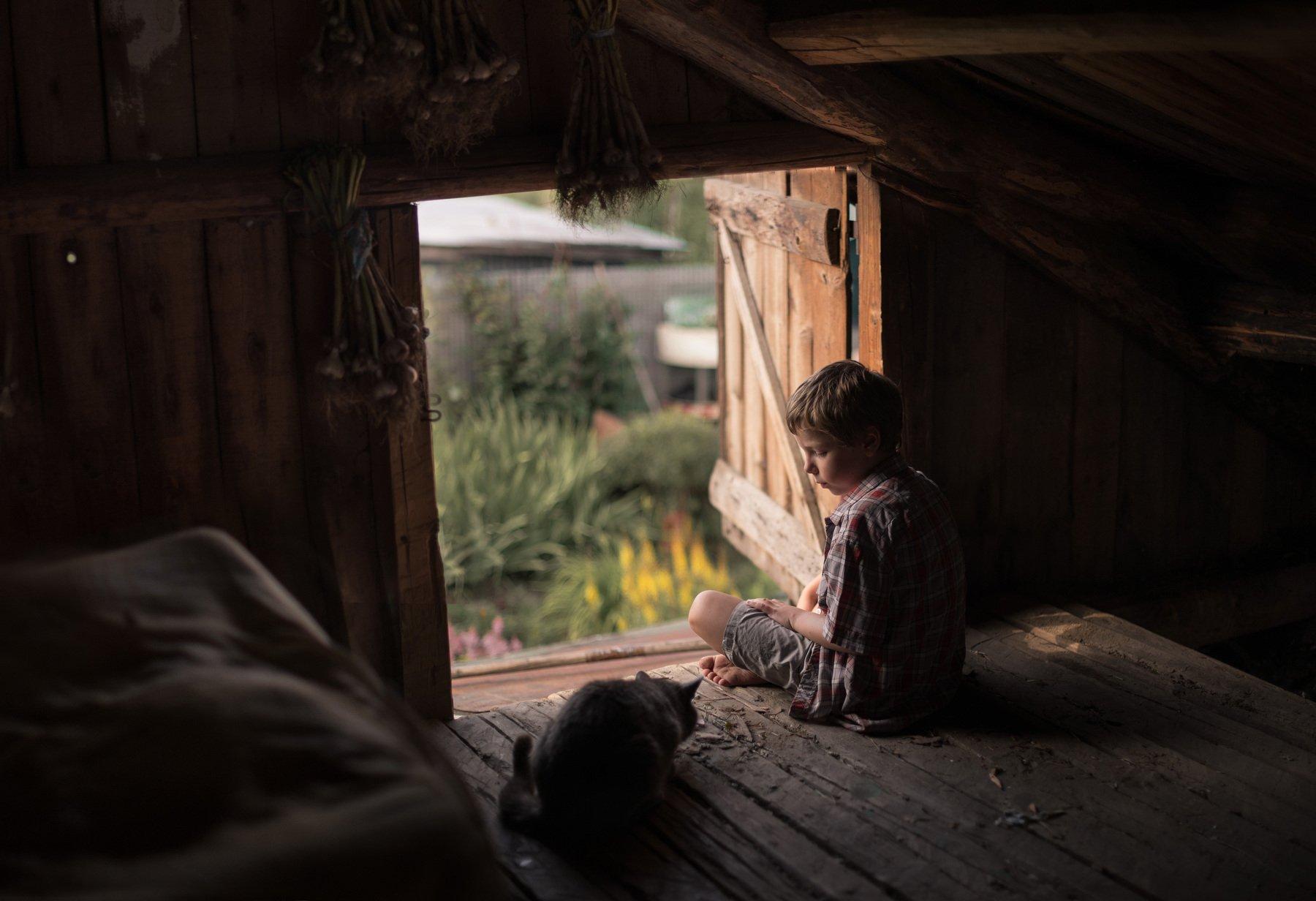 детство, деревня,доброта, Тарасова Ольга