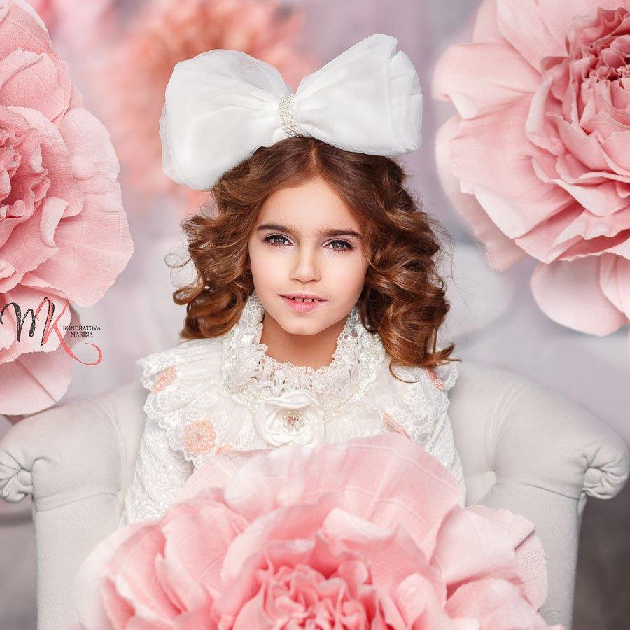 портрет, девочка, куколка, студия, цвет, романтика, детский, дети, мода, стиль, арт, художественный, Марина Кондратова