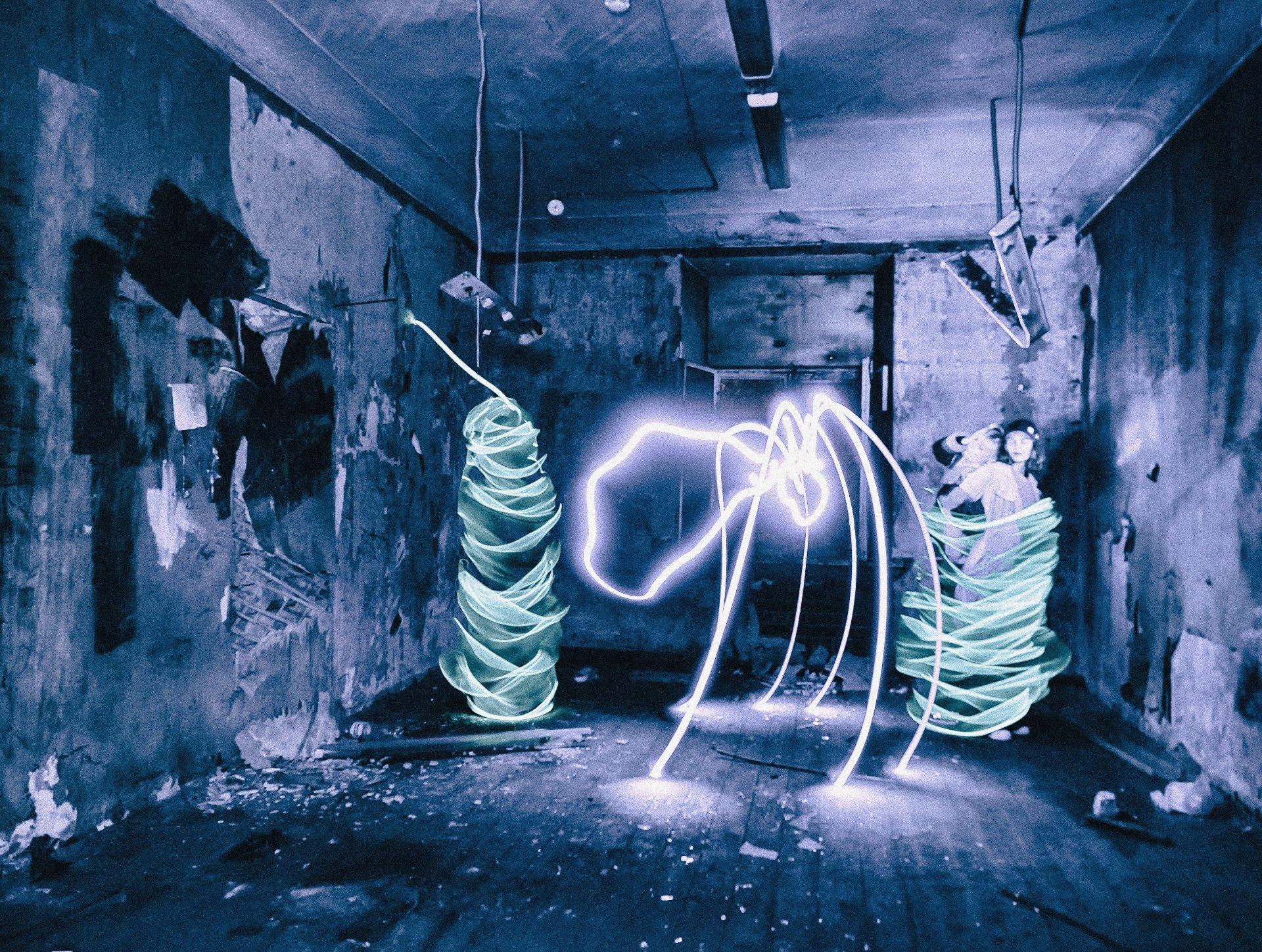 lightpainting, lightart, longexposure, nightphotography, light, night, portrait, Требухин Николай