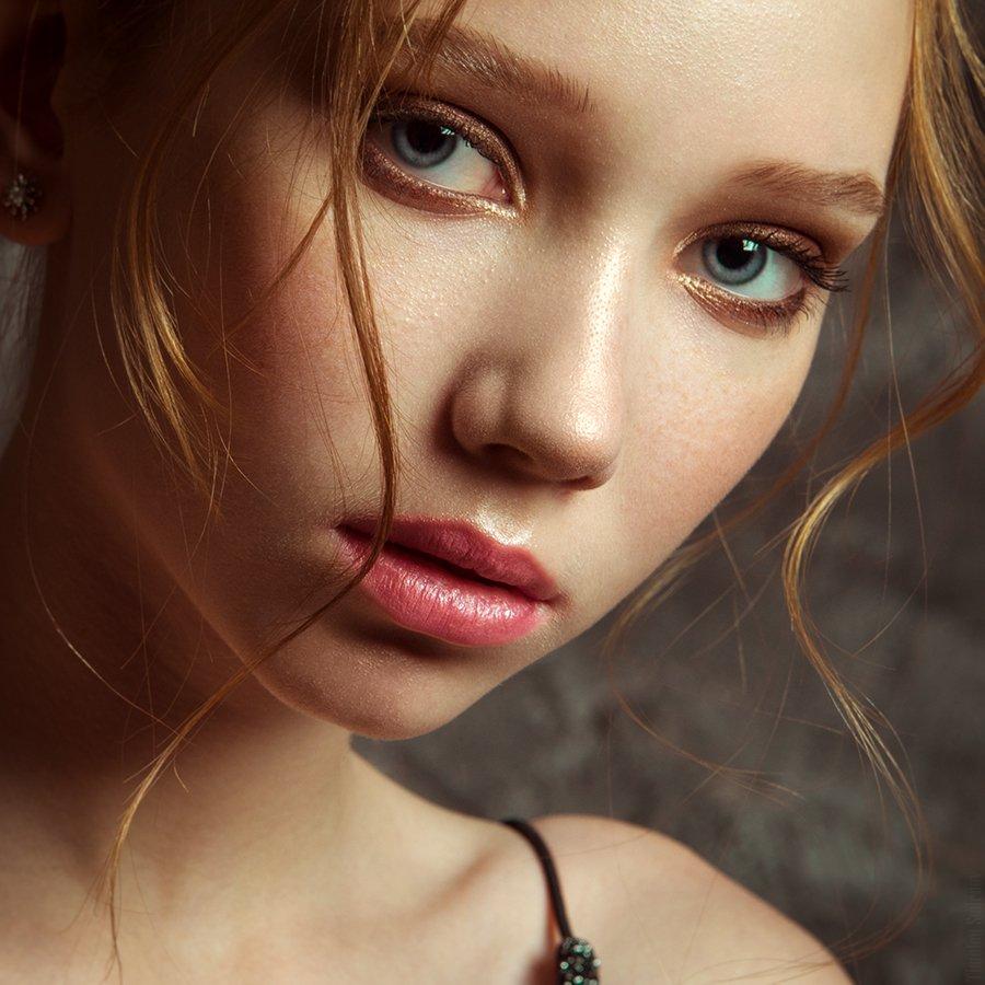 девушка, портрет, милая, cute, girl, portrait, Тимофей Смирнов