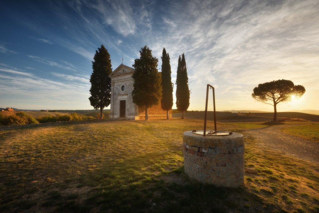 пейзаж, италия, тоскана, Анатолий Гордиенко www.fototour.org