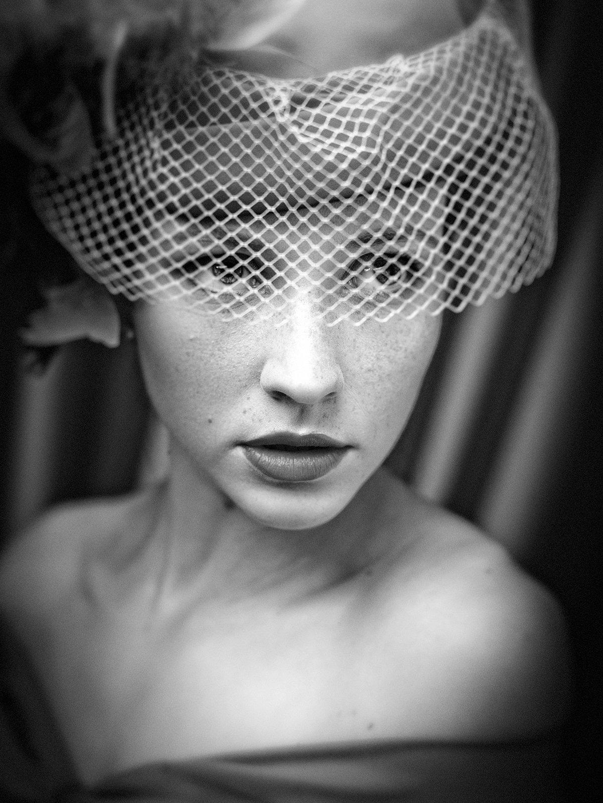 woman, female, portrait, retro, retro styled, style, stylish, look, face, mood, sensual, tenderness, Дмитрий Толоконов