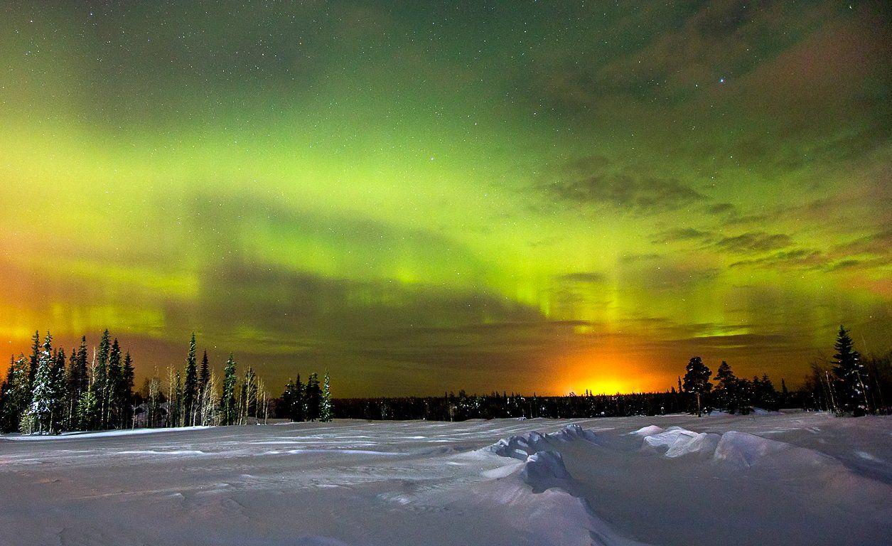 северное сияние,полярное сияние,сс,коми,природа,север,northern lights, polar lights, ss, komi, nature, north, Игорь Триер