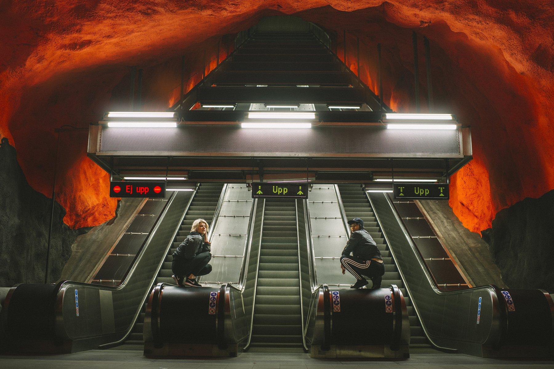 stockholm, subway, travel,, ShootYourStyle
