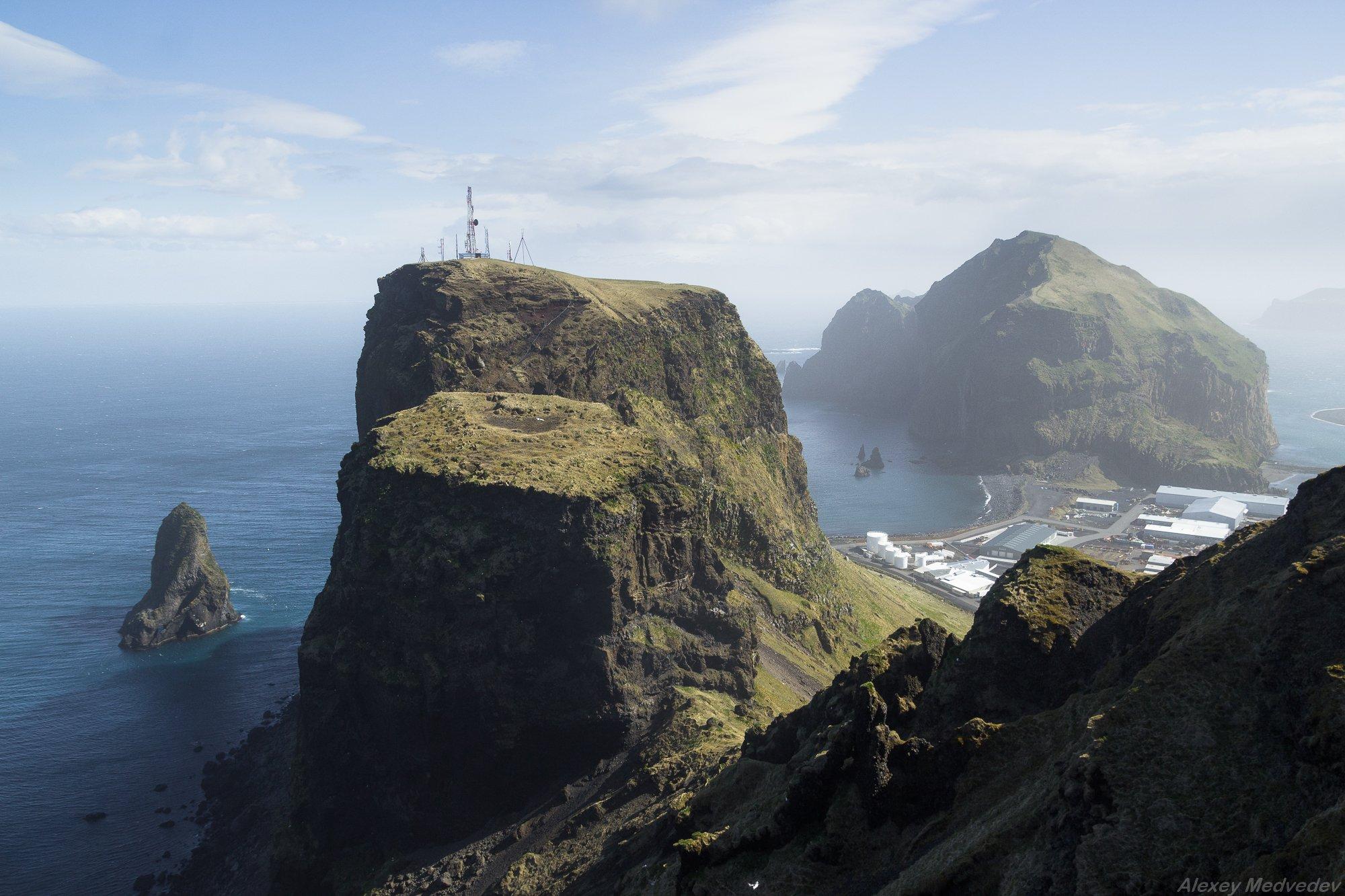 Исландия, Архипелаг, Вестманнаэйар, Iceland, Archipelago, Vestmannaeyjar, Heimaey, island, rocks, sea, остров, скалы, море, океан, Алексей Медведев