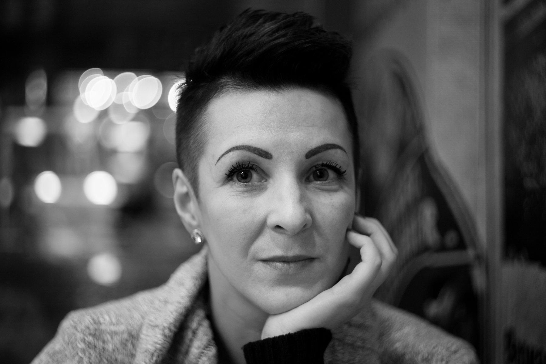 портрет женщина взгляд разговор , Павел Куренбин