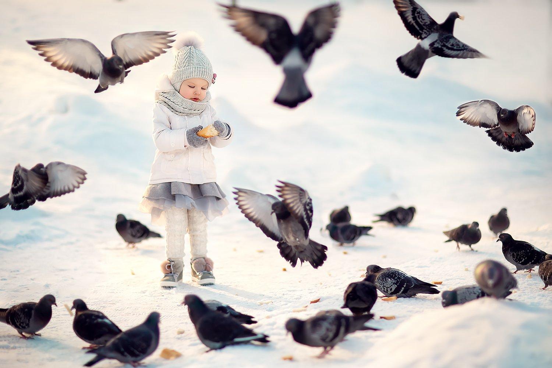 голуби девочка, Екатерина Белоножкина
