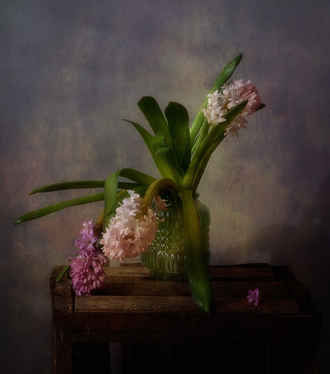 натюрморт,весна,цветы,гиацинты, Наталия К