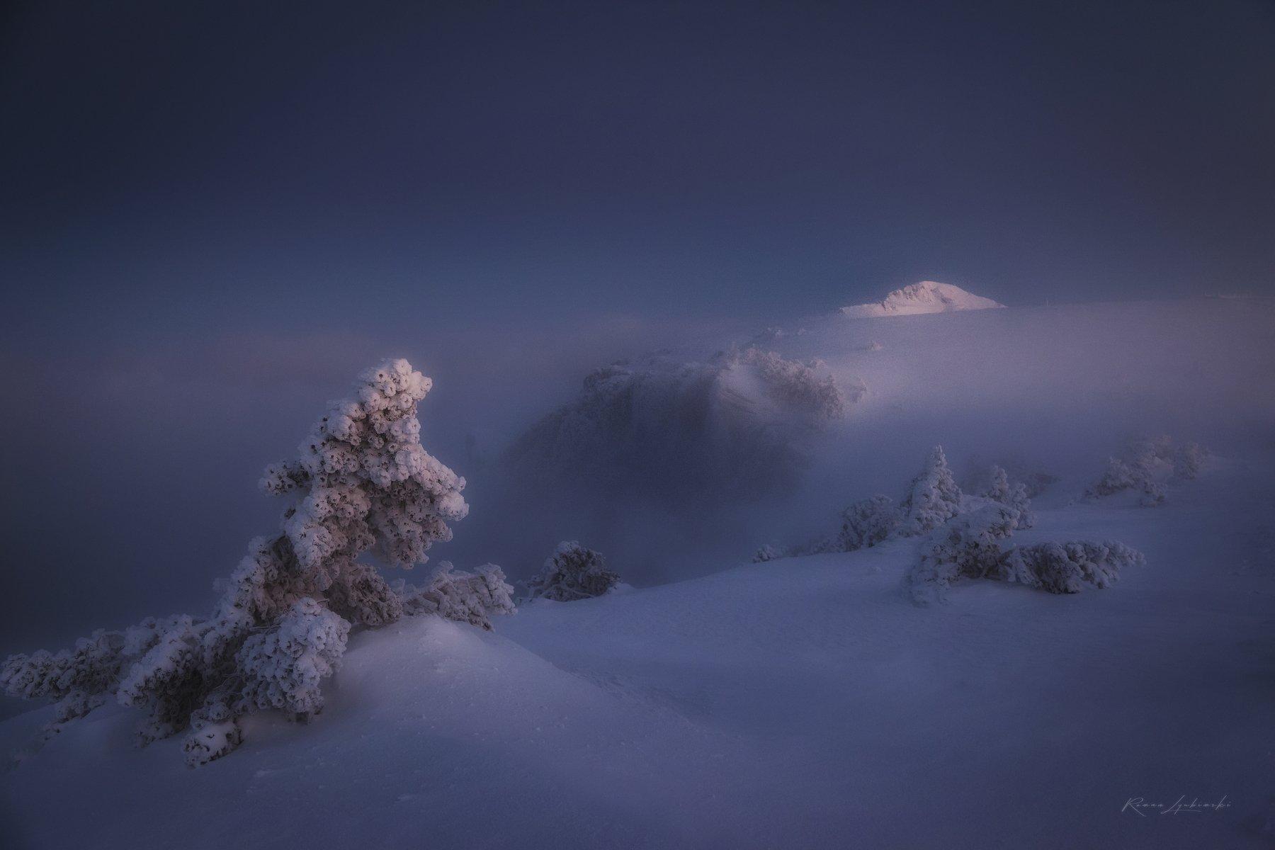 крым, горы, зима, снег, роман-кош, Роман Любимский
