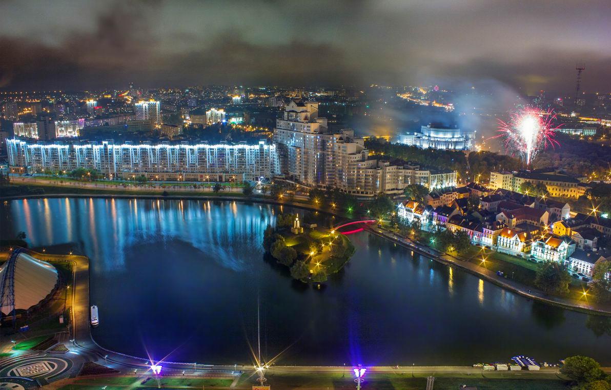 беларусь, город, минск, вечер, фотосфера-минск, Sergey-Nik-Melnik.by