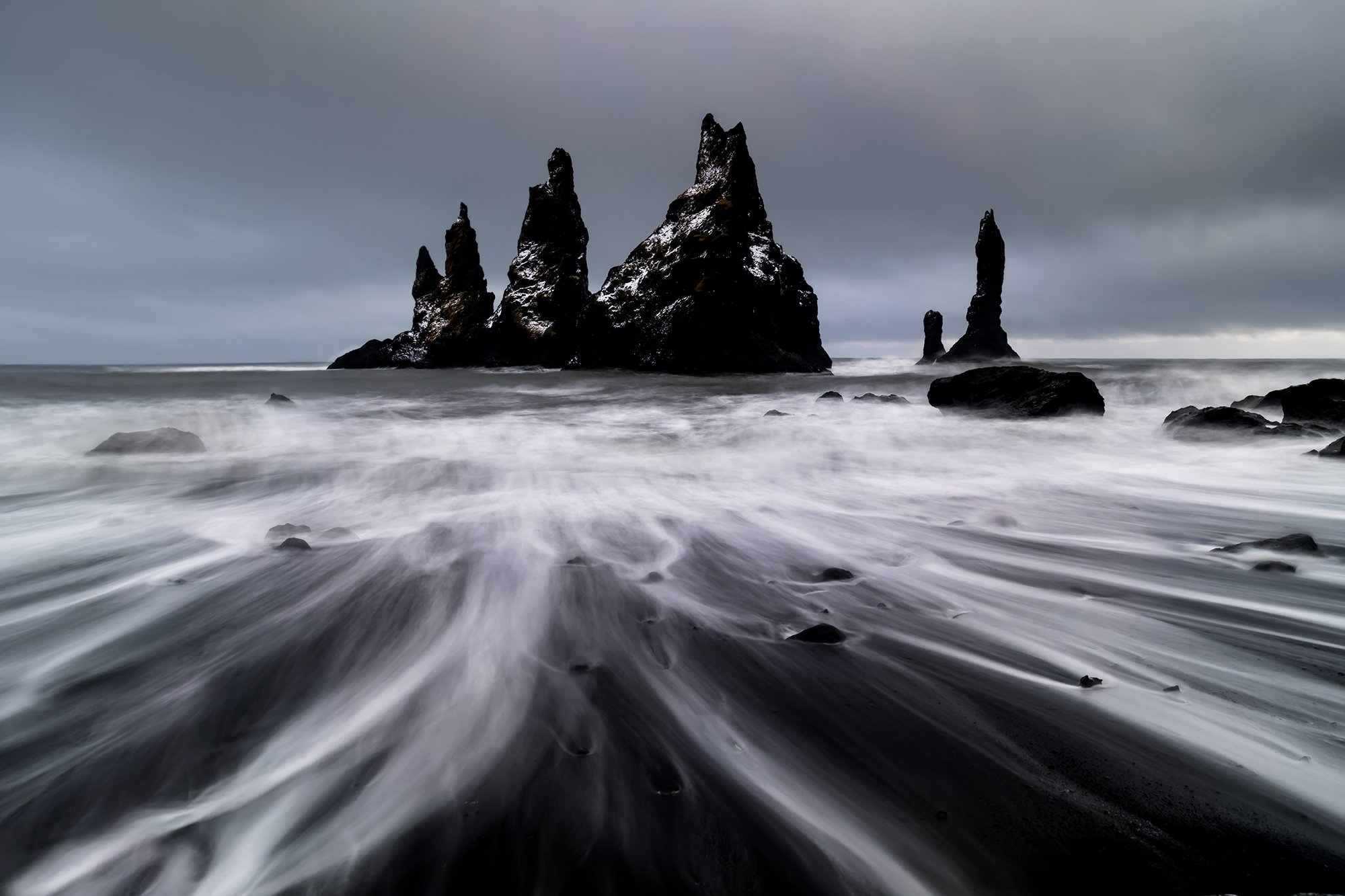 vik, исландия, шторм, Антон Петрусь