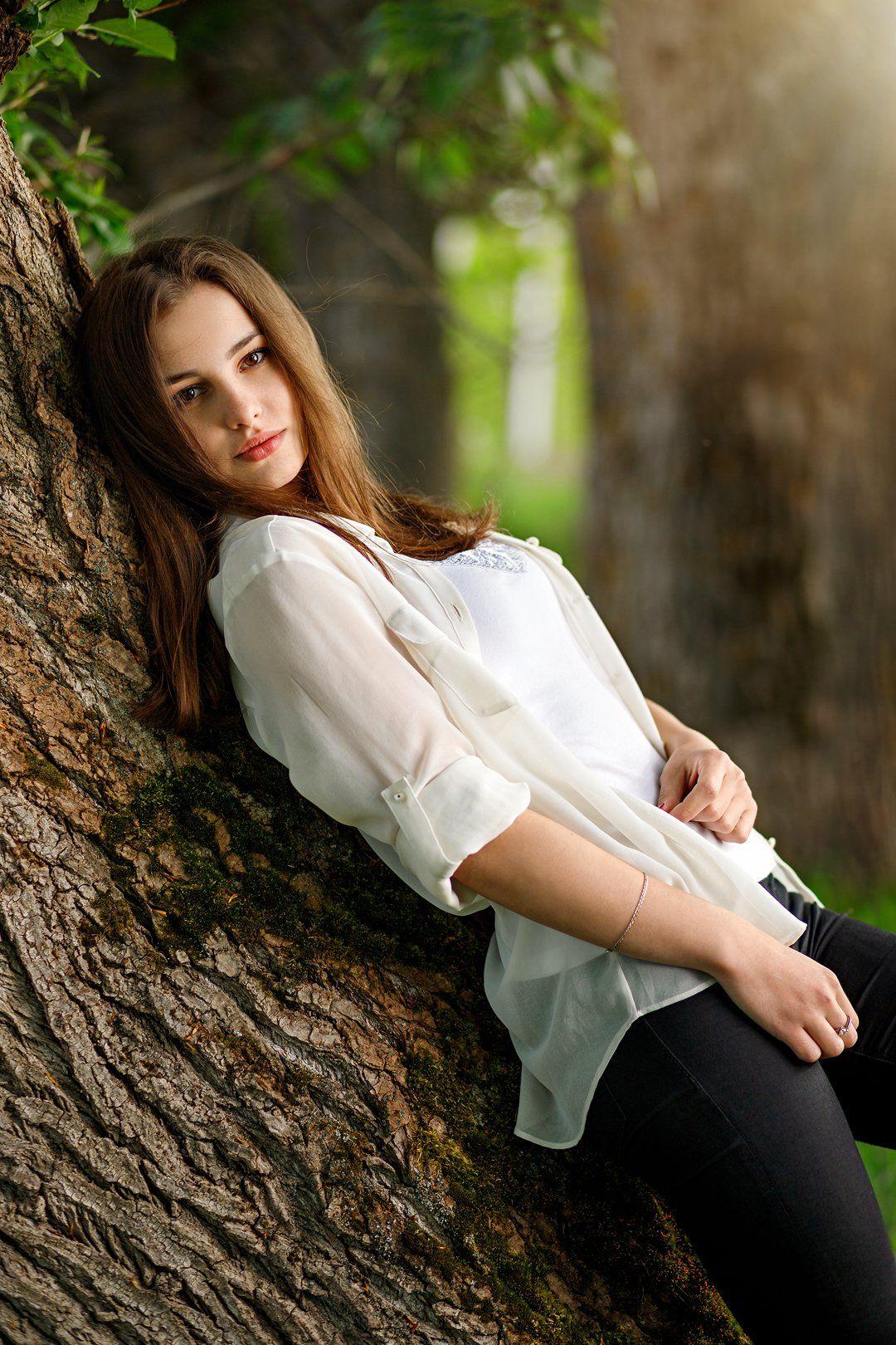 портрет, девушка, Сергеев Сергей