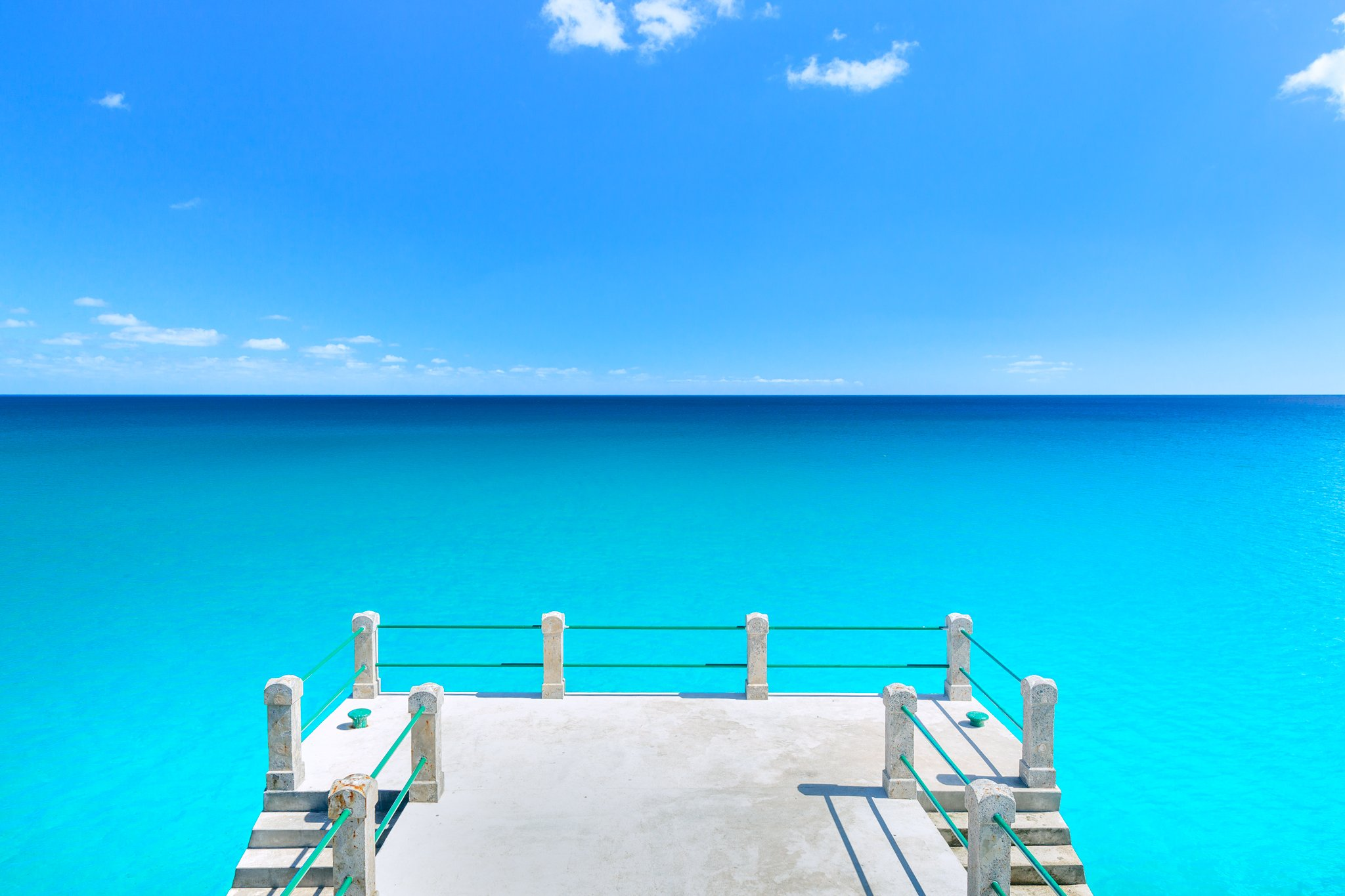 #portosanto #portugal #island #portugese #reach #turquoise #ocean #dock #water #naturalbeauty #earth #nature #atlanticocean #wonderland #amazingnature #clearwater #sunnyday #vilabaleria #lookout #horison #clouds #bluesky #freedom #dream #vacation #travel , Marko Radovanovic
