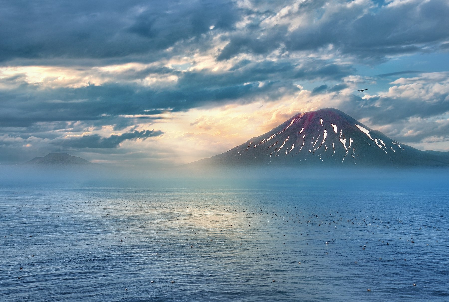 пейзаж, вулкан, природа, камчатка, Алена Литвин