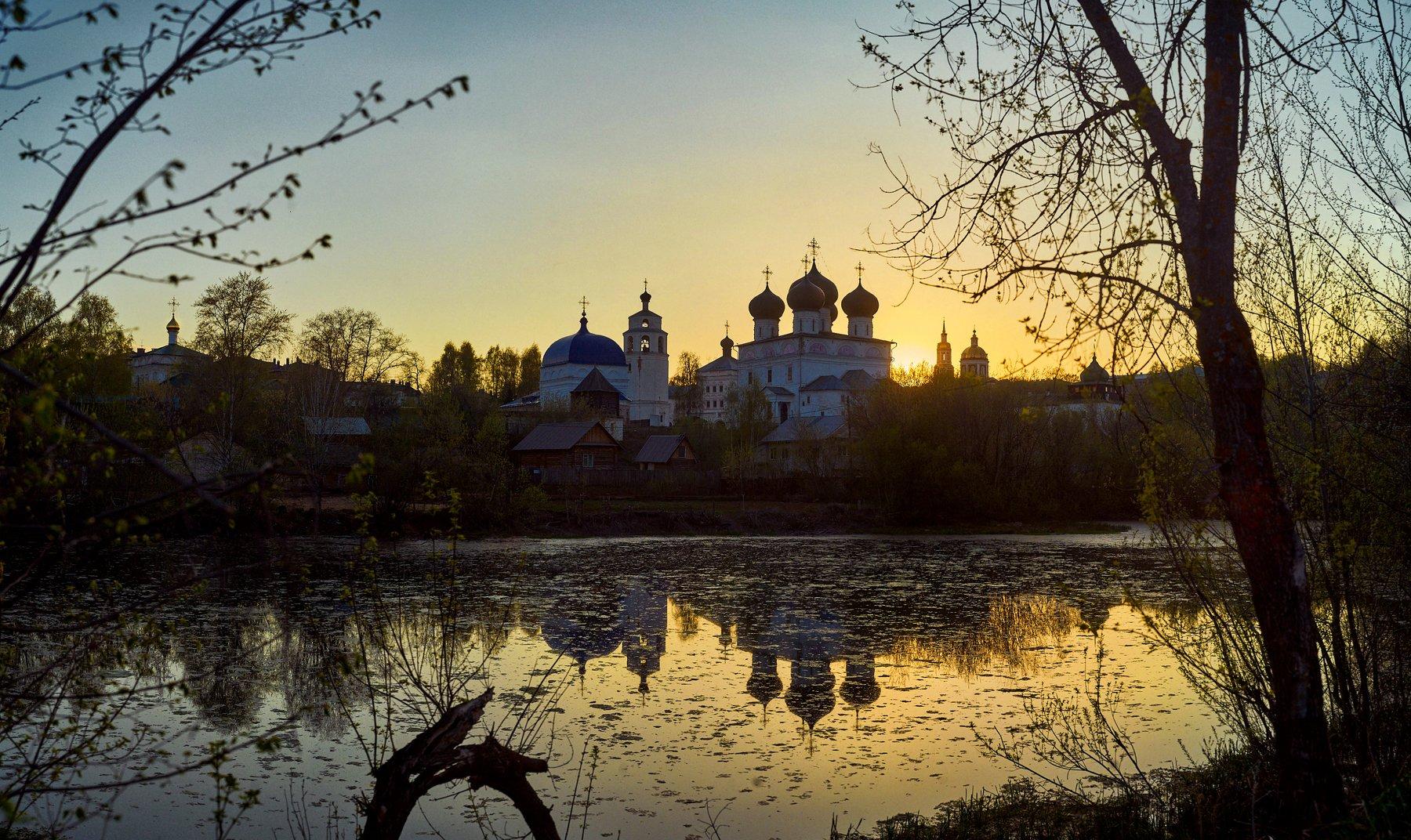 вятка, киров, трифонов монастырь, Кривошеин Марк