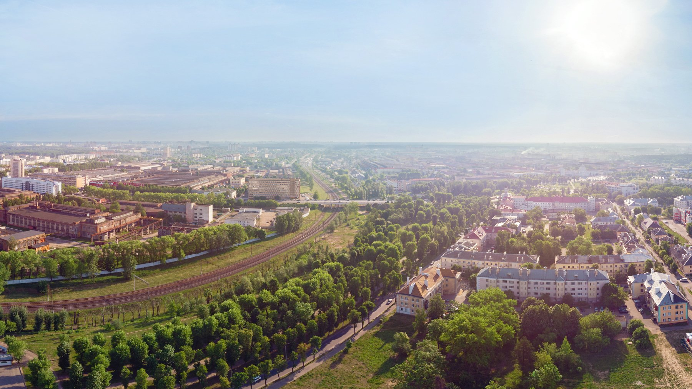 город, пейзаж, солнце, HDR, Павел Рыженков