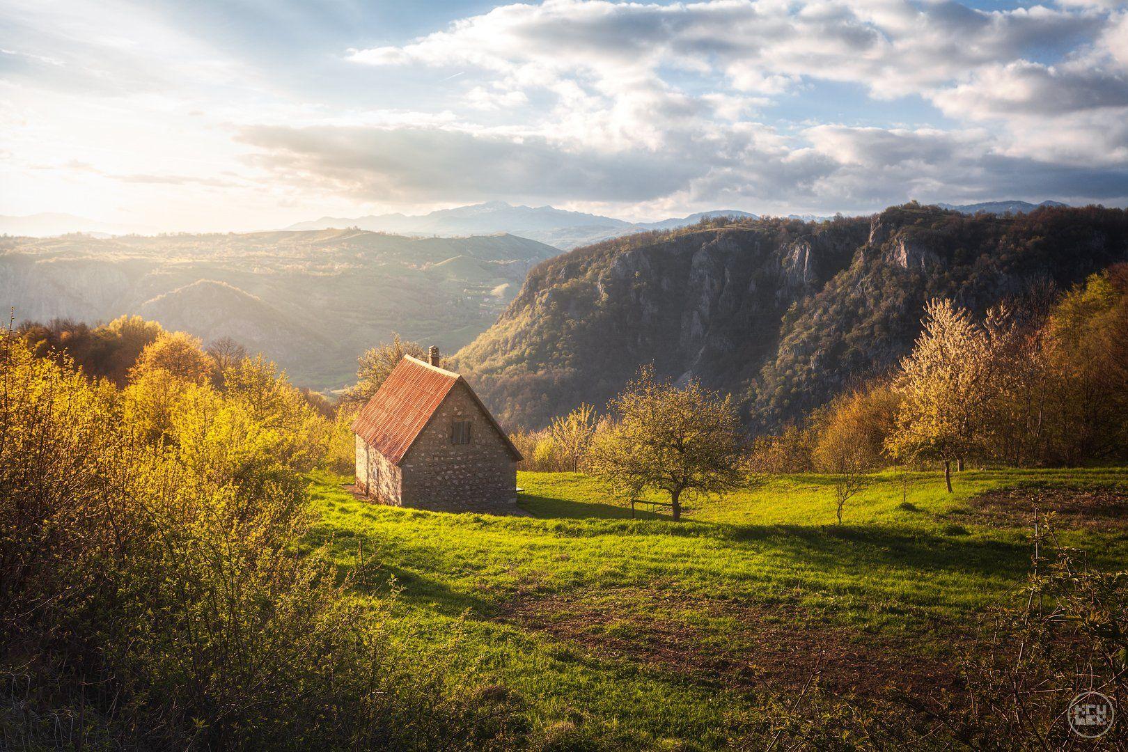 черногория, горы, пейзаж, KrubeK