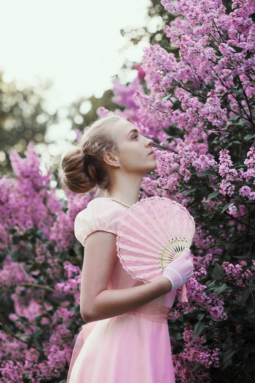 фото девушка портрет сирень, Marie Dashkova