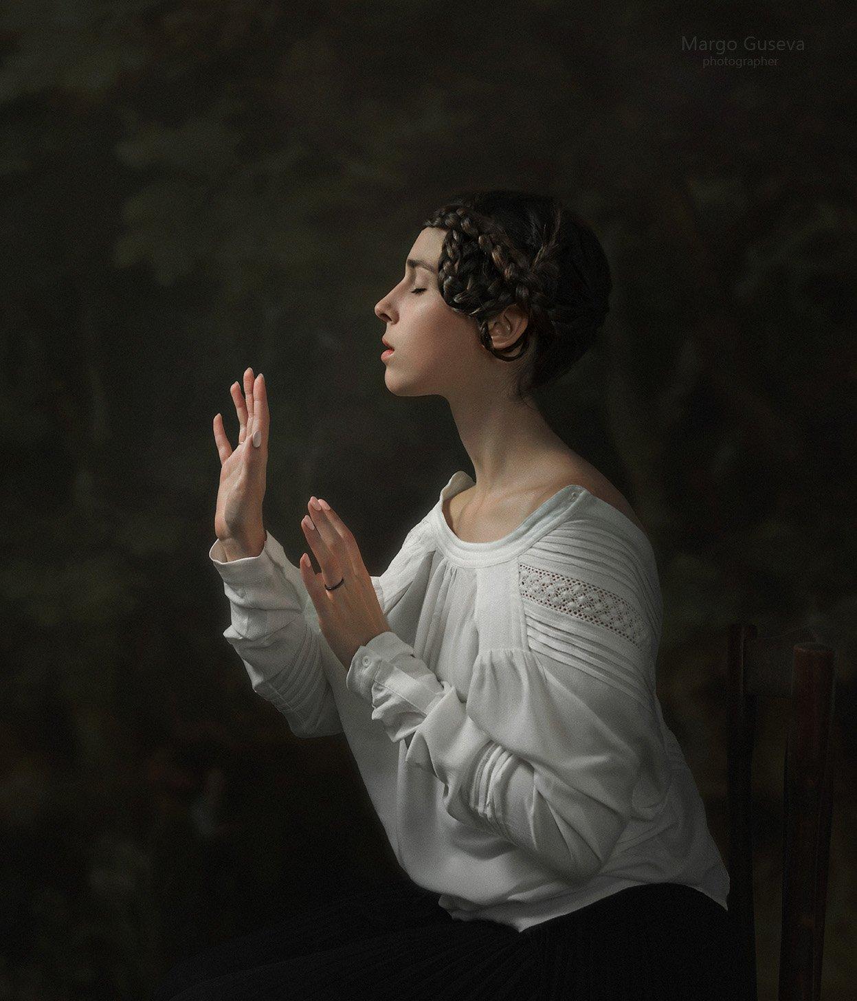 портрет, арт, художественный портрет, Маргарита Гусева, Margarita Guseva, Маргарита Гусева