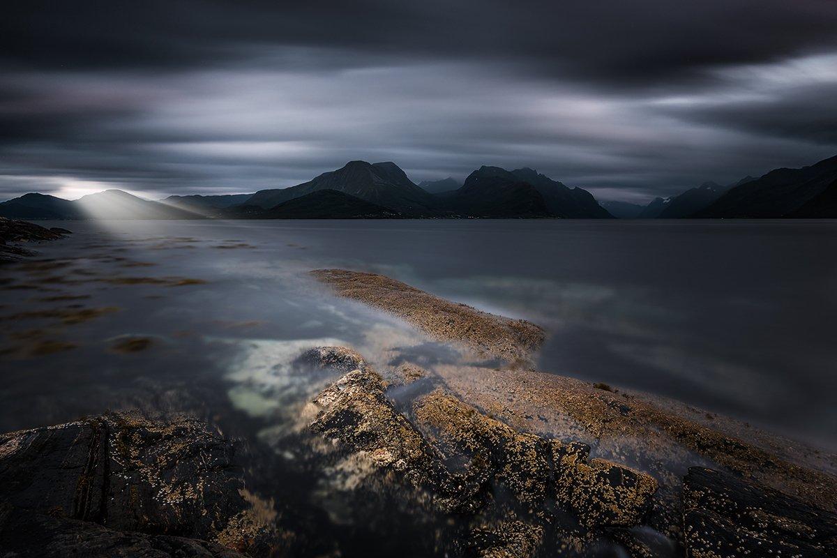 norway,landscape,light,sunset,rock,stone,mood, Tomek Orylski