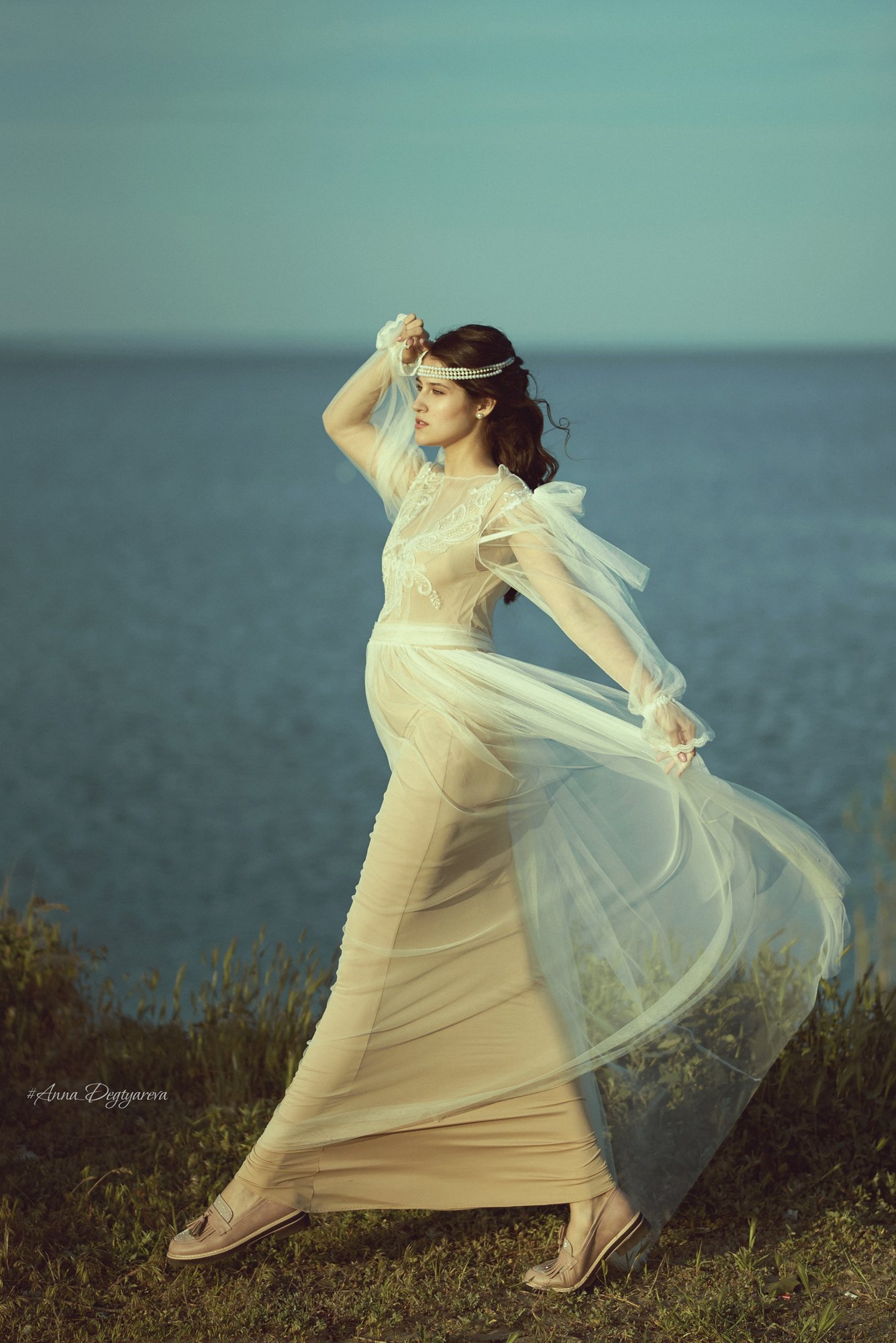 море, портрет, Дегтярёва Анна
