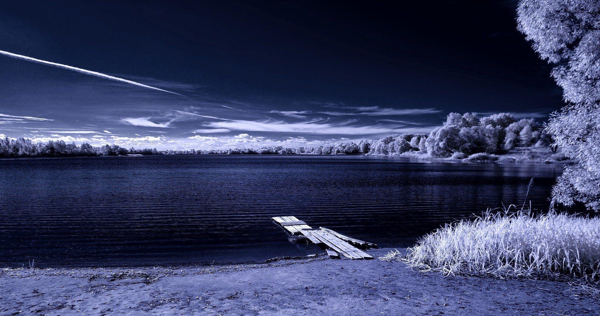infrared,ик-фото,инфракрасное фото, инфракрасная фотография, пейзаж, осень, Sixten ( Сергей )
