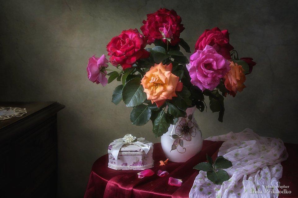 Палитра летних роз. Ирина Приходько