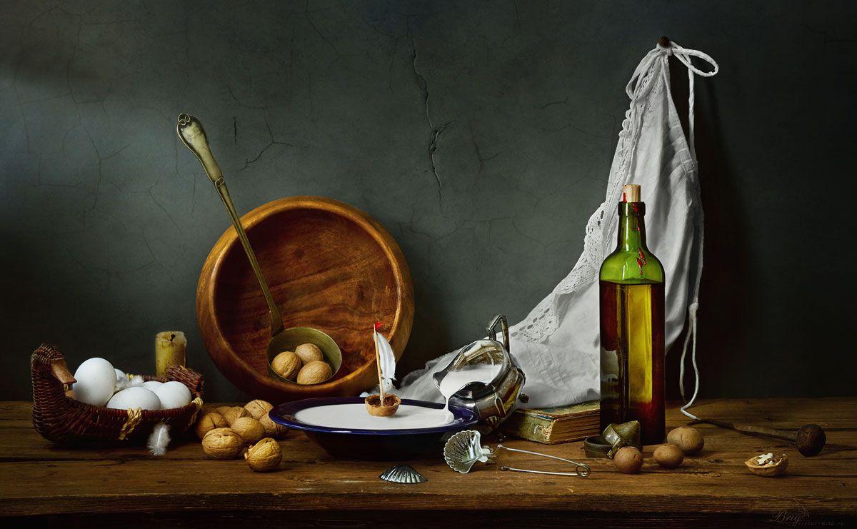 кораблик, перо, масло, фартук, яйца, молоко, кухня, Бриг Виктор
