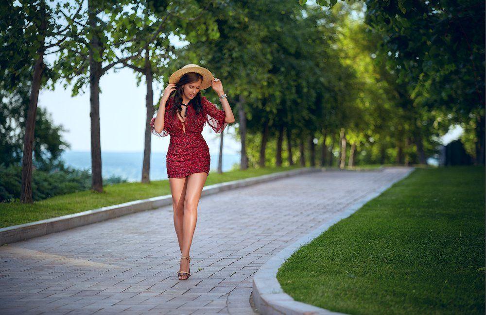 портрет,девушка,улица,вечер,солнце,красота,, Воронин Андрей