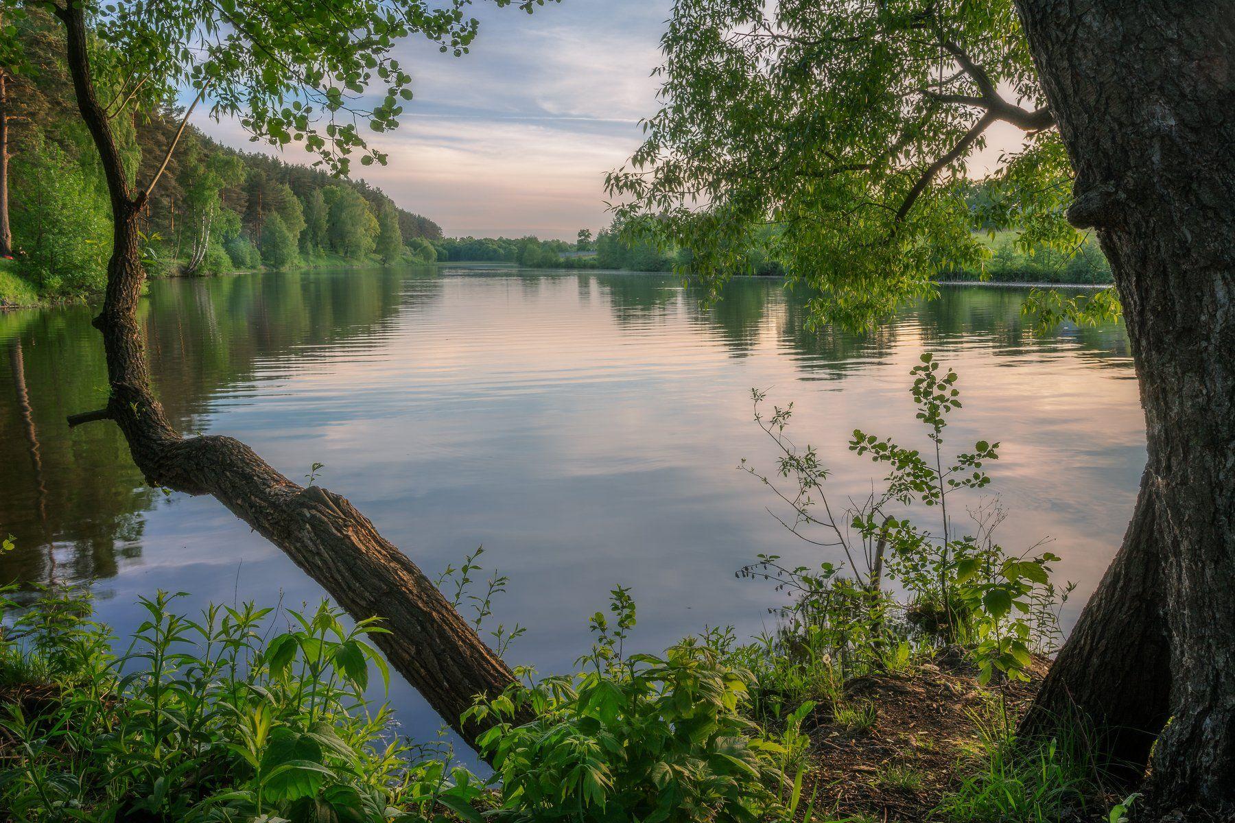 природа, пейзаж, закат, Мартыненко Дмитрий