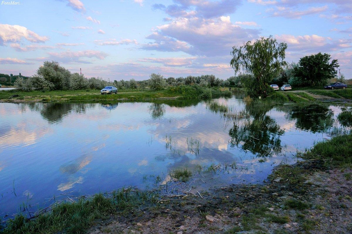 природа,небо,облака ,отражение,взгляд, Марина Соколова