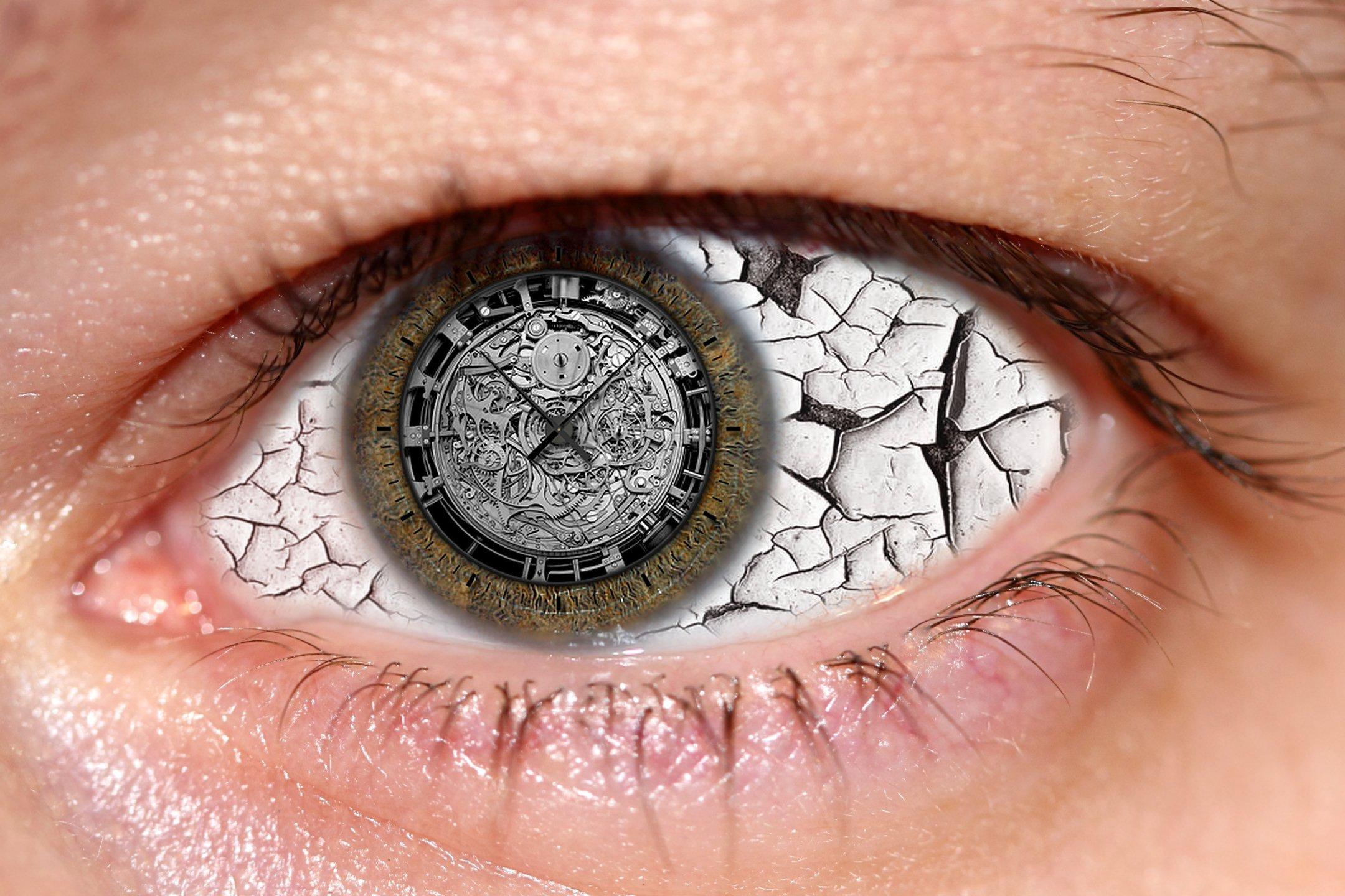 креатив, обработка, концепция, время, таймер, глаз, concept, timer, clock, eye, Салтыков Дмитрий