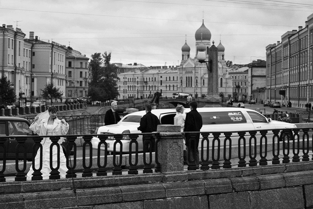 спб, свадьба, невеста, мост, апатиты, Николай Смоляк