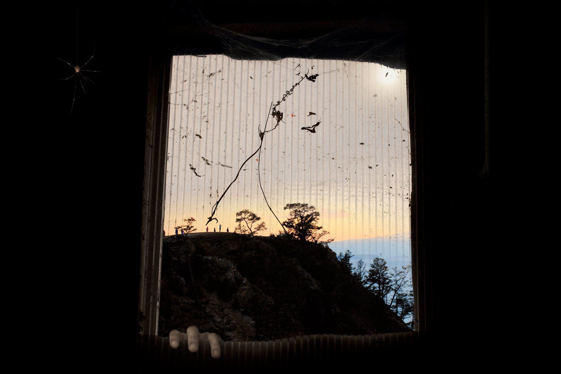 креатив, обработка, концепция, грезы, сны, окно, concept, evening, dreams, window, Салтыков Дмитрий