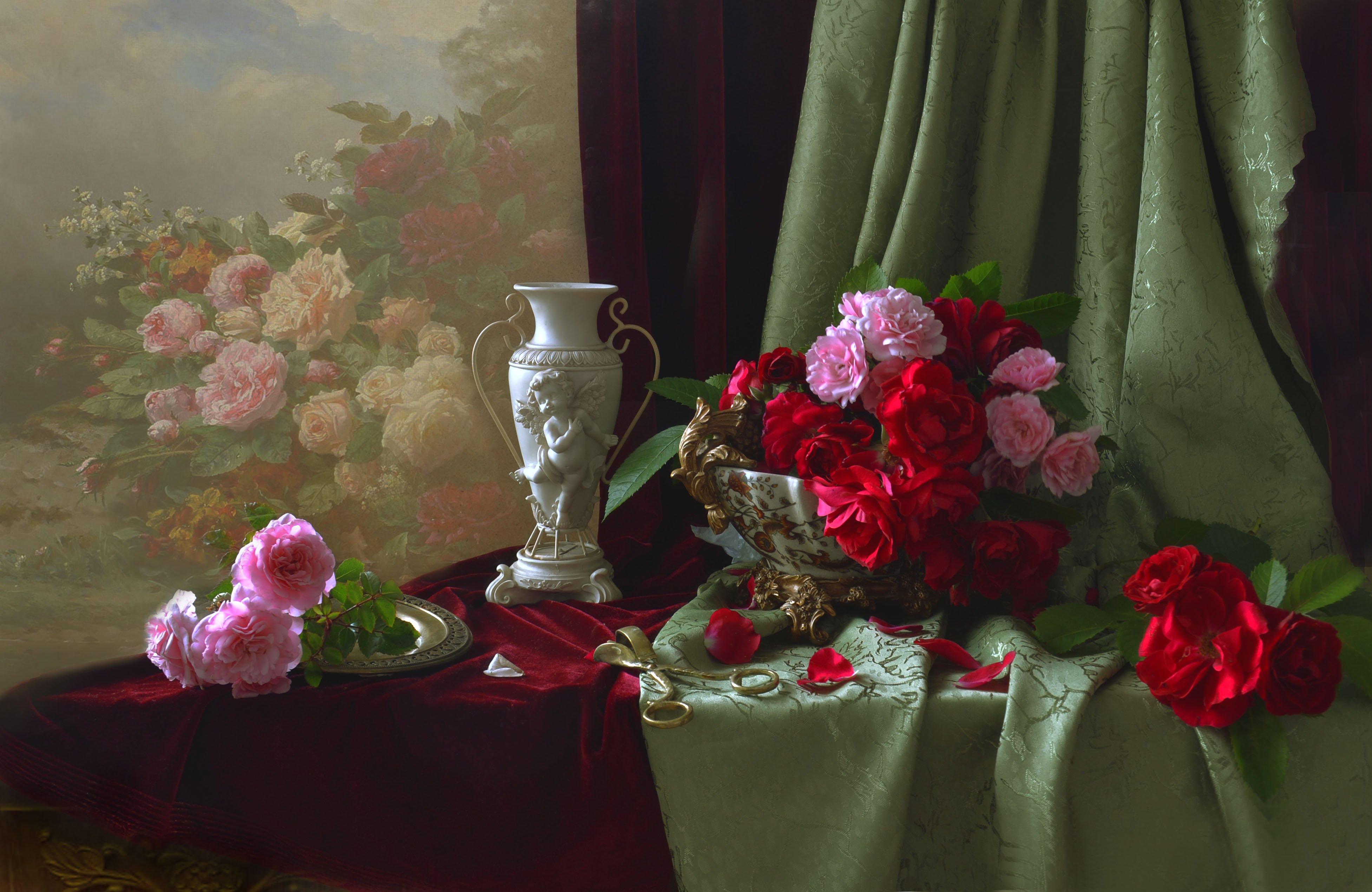 Ах, эти розы... Колова Валентина