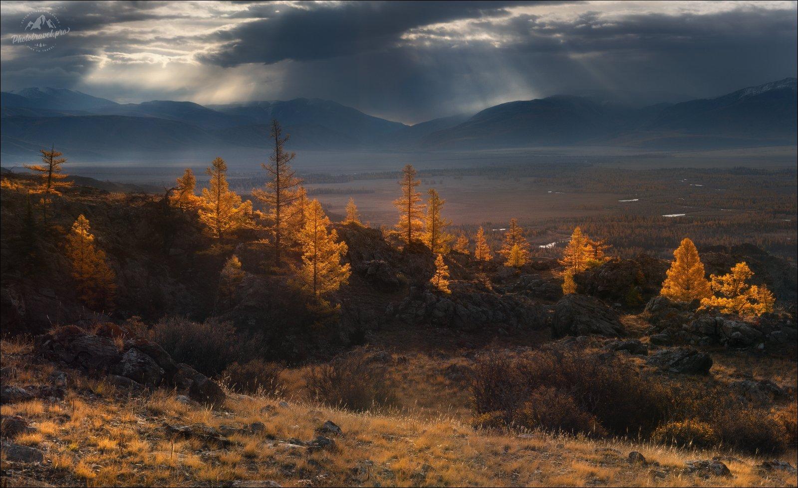 Алтай, Таджилу, Тадила, осень, Курайская степь, Курай, phototravel.pro, фототур на Алтай, Влад Соколовский