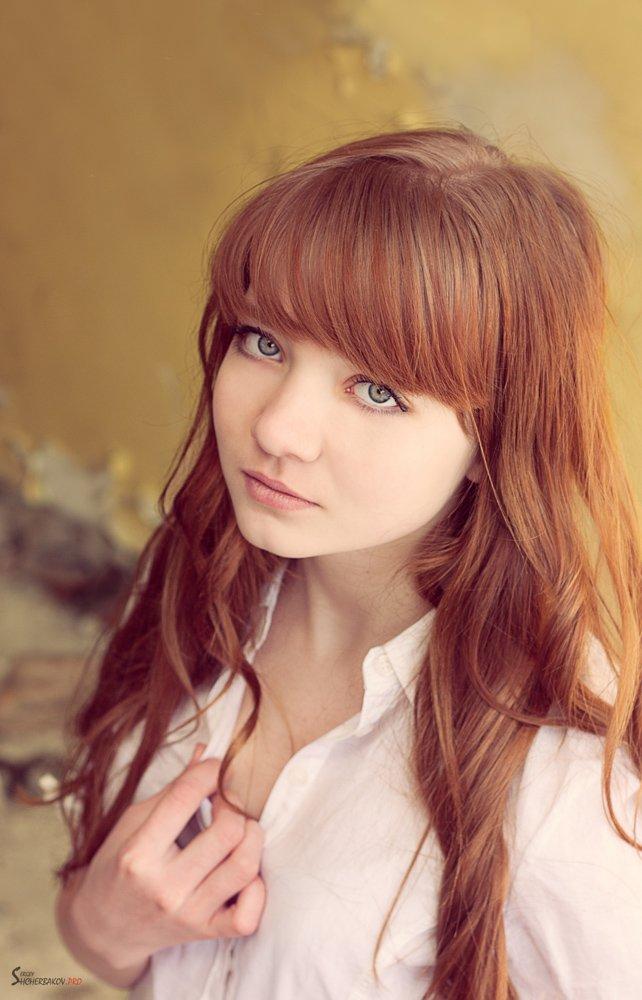 портрет, 2012, красивая, девушка, Щербаков Сергей