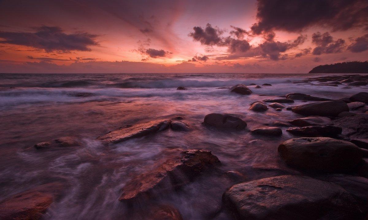 тай, остров, koh kood, камни, море, Boris Bogdanov