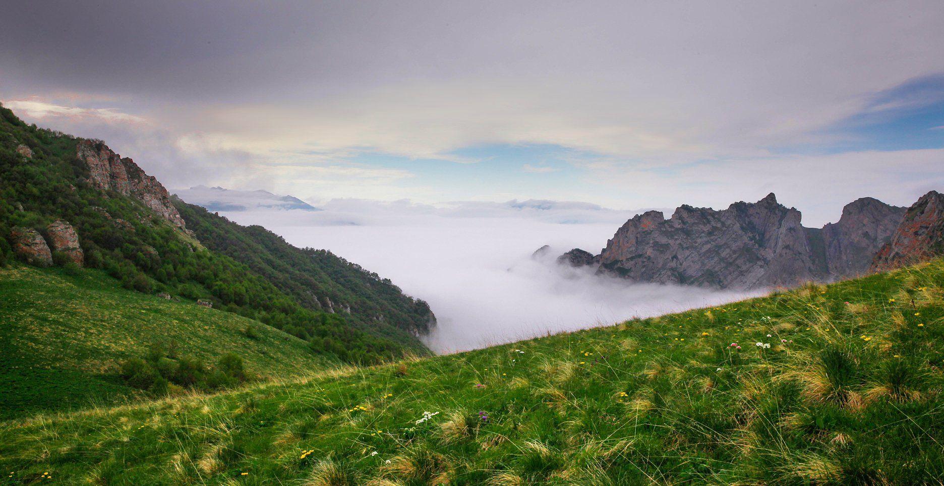 горы,пейзаж,горный пейзаж,весна,чечня,северный кавказ,, Magov Marat