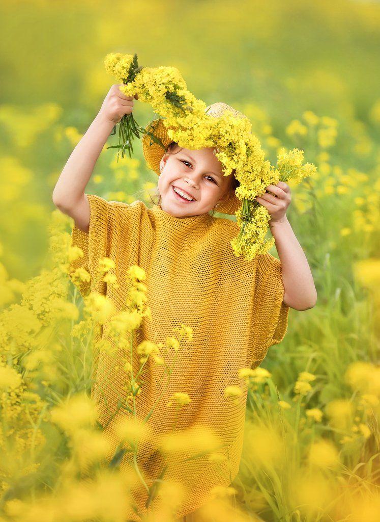 дети, портрет, девочка, фото, цветение, образ, Круглова Елена