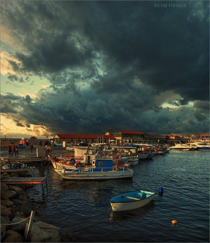 пафос, кипр, набережная, пристань, отдых, путешествия, лодки, pafos, cyprus, Виктор Перякин